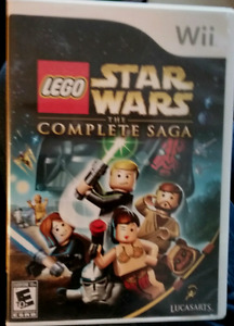 STAR WARS LEGO GAME FOR NINTENDO WII