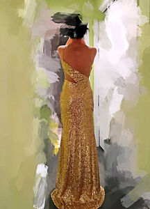 Brand New High End Elegant Formal Dress/Prom/ Special Occasion