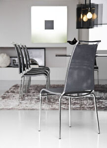 Brand New Calligaris Chairs - Air High Model