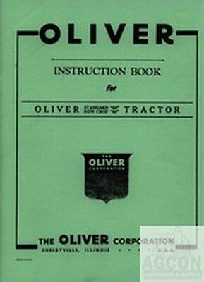 Oliver 80 Row Crop Standard Tractor Instruction Manual