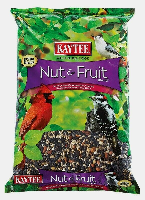 Kaytee Nut & Fruit Cardinal Wild Bird Food Sunflower Seed 5 Lb