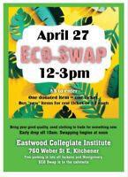 Earthday Clothing Swap