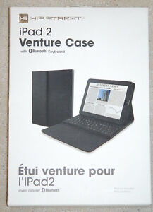 iPAD VENTURE CASE 3-in-1 case with bluetooth keyboard etc.