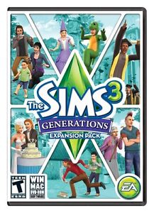 New Sims 3 Generations with code