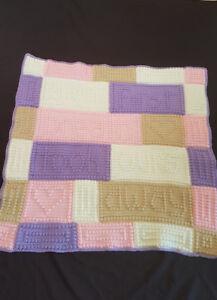 Brand New handmade crochet baby blanket
