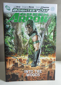 """Green Arrow Brightest Day """"Into the Woods"""" Vol. 1 Hardcover"""