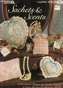 Leisure Arts Sachets and Scents Pamphlet