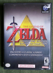 Zelda Collectors Edition for Gamecube