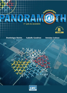 Panoramath secondaire 2 (manuel B volume 1)