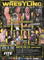 IHW Wrestling April 26th at Moncton Lions Club 55 Mark Ave