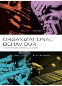 Organizational behaviour textbooks buy or sell books in ottawa wanted organizational behaviour by johns and saks textbook hr fandeluxe Gallery