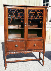 Antique Display Cabinet *Delivery Available *