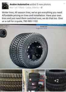 Tires, winter tires, All season tires, snow tires