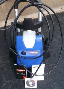 Simoniz S1700 Electric PRESSURE WASHER W Manual