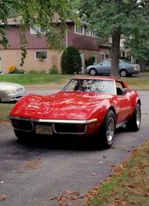 1972 VETTE- LAST OF THE CHROME BUMPERS!