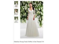 Wedding Dress Ivory Size 14-16