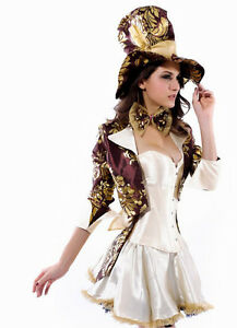 Deluxe Mad Hatter Cosplay Costume XL