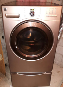 Kenmore Platinum Electric Dryer with Pedestal