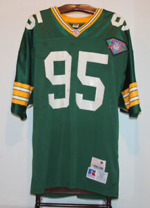 RUSSELL PRO LINE BRYCE PAUP 1994 GREEN BAY PACKERS FOOTBALL 52