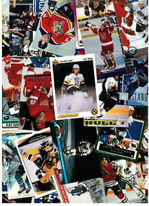 800 Assorted 1990's Hockey Cards