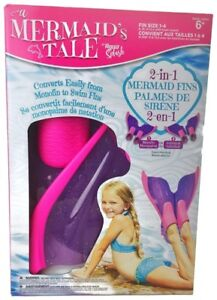 2-in-1 Mermaid Fins by Aqua Splash