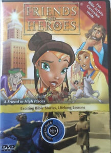 Friends And Heroes: A Friend I High Places Kids Learning DVD