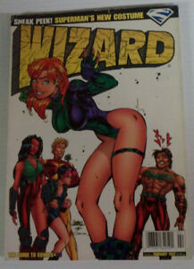 5 issues of WIZARD magazine from late 90's