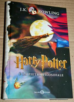 Harry Potter e la pietra filosofale (Copertina Rigida)
