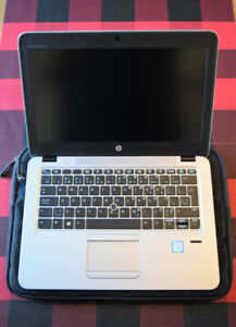 hp elitebook 820 g3, 8go, 256go SSD, i5-6200, wifi+carte SIM