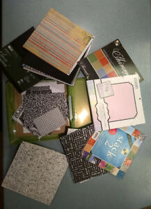 Boxes and Boxes of card stock and paper for sale