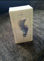 SILVER IPHONE 6S 64gb - ROGERS - NEW IN BOX - TRADE