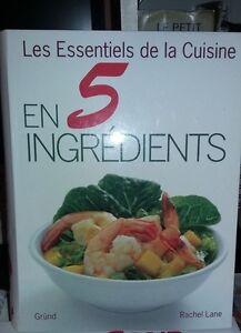 Livre de cuisine En 5 ingrédients