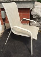 Patio chairs - set of 4, very good condition