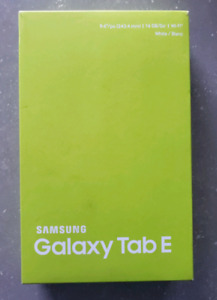 "Samsung Galaxy Tab E 9.6"" Brand New in Box. Unopened"