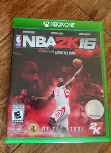 NBA 2K16 Game for Xbox One