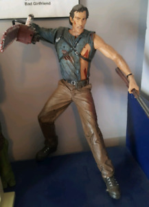 "Movie Maniacs 18"" Talking Ash Army Of Darkness"