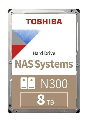 toshiba n300 8tb very good condition (purchased new in May this year)