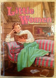 Antique Book Little Woman From 1955