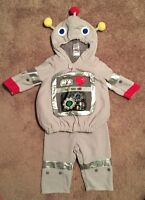 Halloween costume robot 6 to 12 month