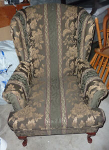 Wing chair in excellent condition