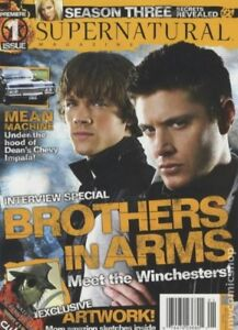 Looking to buy copies of old Supernatural TV show Magazines.