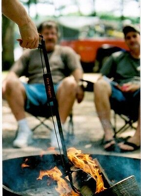 3 Each Fire Fingers, Camp Fire, Stoves, Will Make Tending Fire Easier And Safer.