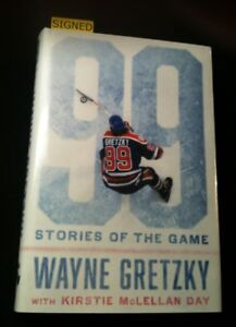 *SIGNED* Wayne GRETZKY: 99 STORIES OF THE GAME 2016 As New w/DJ