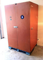 Palletized Locking Tradeshow Cabinets (Two for Sale)