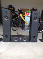 Polk Audio Towers & Center Channel