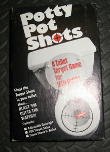 1970s Novelty Game: Potty Pot Shots