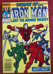 3 Marvel What If Comics, Iron Man, Punisher, Fantastic Four $-