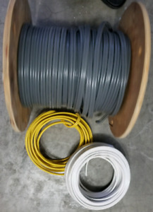 ☆ ELECTRICAL WIRE ☆ 16ft PC BASEBOARD 4 PC 8 FT DOOR CASING TRIM
