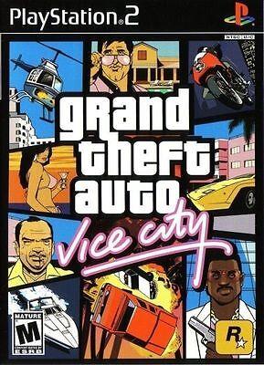 Grand Theft Auto  Vice City  Playstation 2 Ps2  Ntsc  Gta Shooting Driving  New