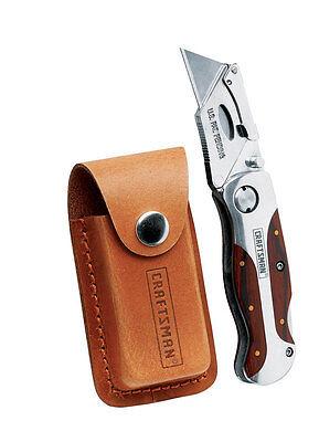 "CRAFTSMAN"" UTILITY KNIFE Premium folding lockback"